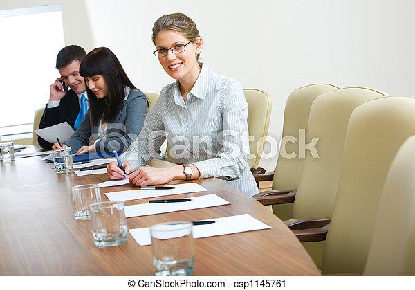 Educación de negocios - csp1145761