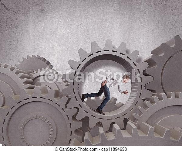 Sistema de mecanismo de negocio - csp11894638