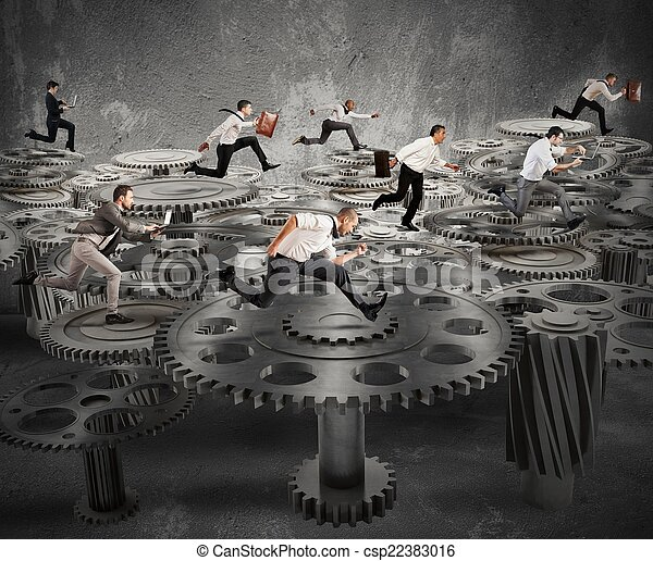 Mecanismo de negocios - csp22383016