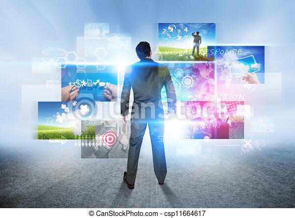 Visión de negocios - csp11664617