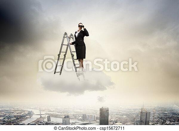 Visión de negocios - csp15672711
