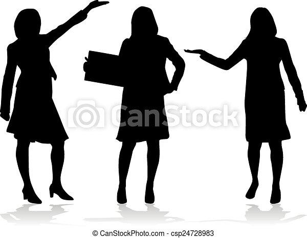 Mujeres de negocios - csp24728983