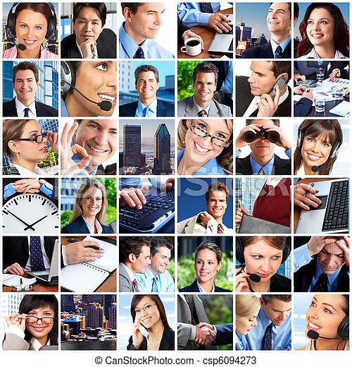 Gente de negocios - csp6094273