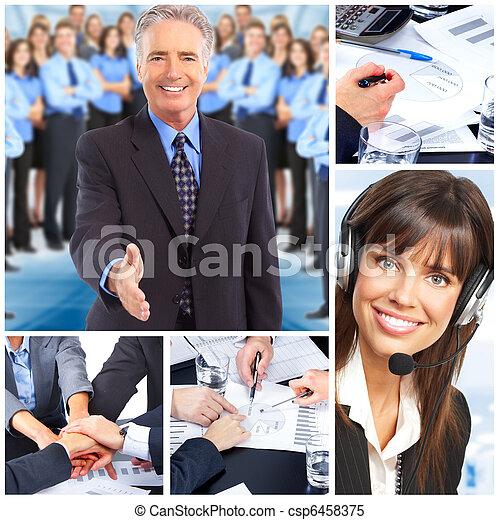 Gente de negocios - csp6458375