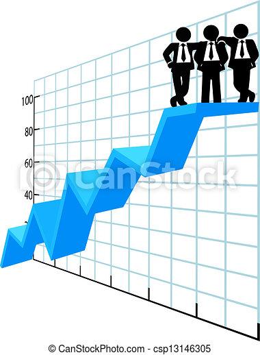La gente de negocios es el mejor vendedor - csp13146305