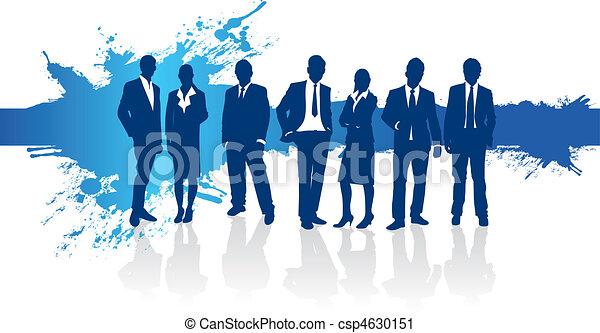 Gente de negocios - csp4630151