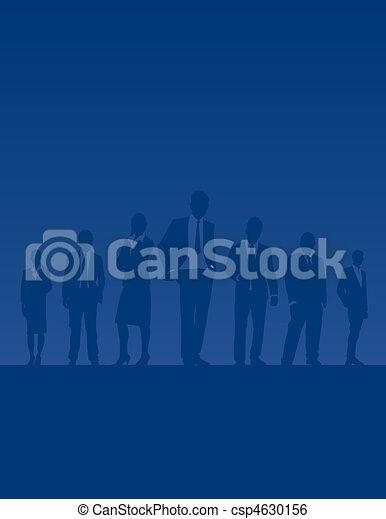 Gente de negocios - csp4630156
