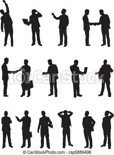 Gente de negocios - csp5886496