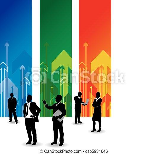 Gente de negocios - csp5931646