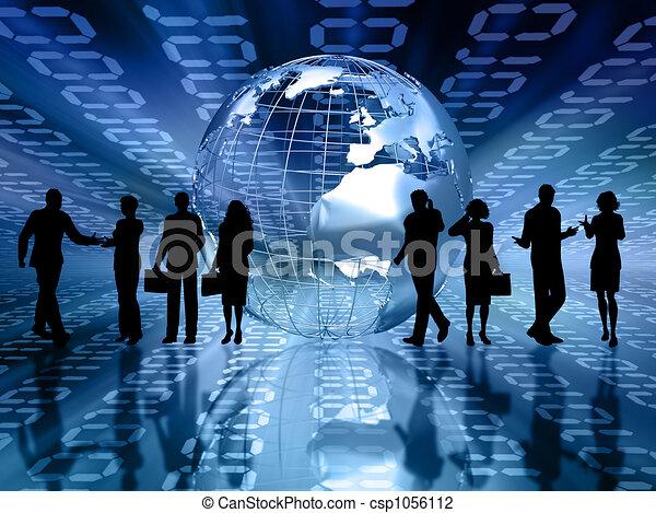 Gente de negocios - csp1056112