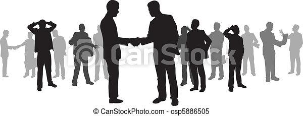 Gente de negocios - csp5886505