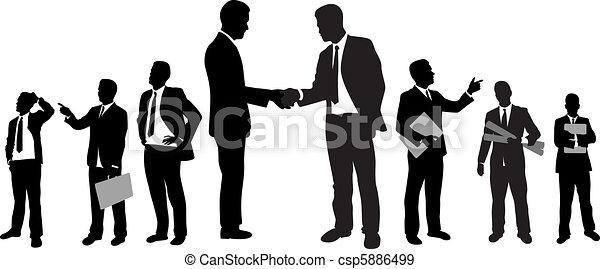 Gente de negocios - csp5886499
