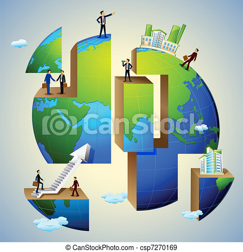Gente de negocios - csp7270169