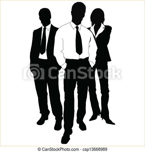 Gente de negocios - csp13668989
