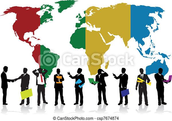 Gente de negocios - csp7674874