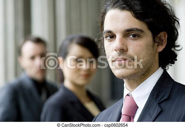 Gente de negocios - csp0602654
