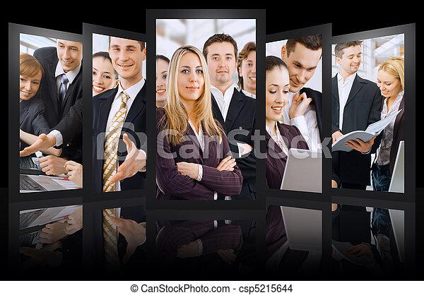 Gente de negocios - csp5215644