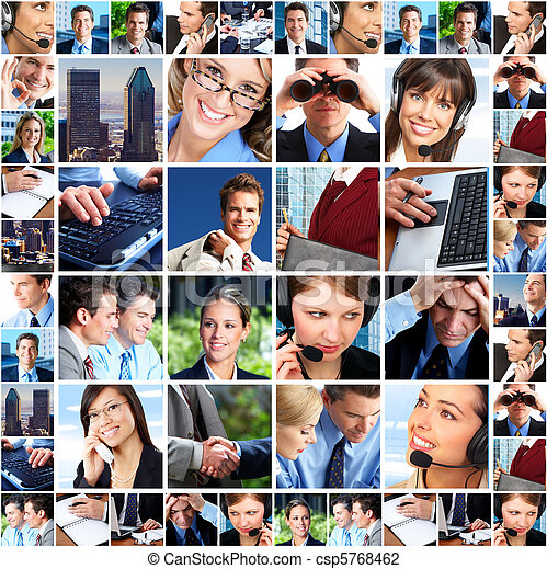 Gente de negocios - csp5768462