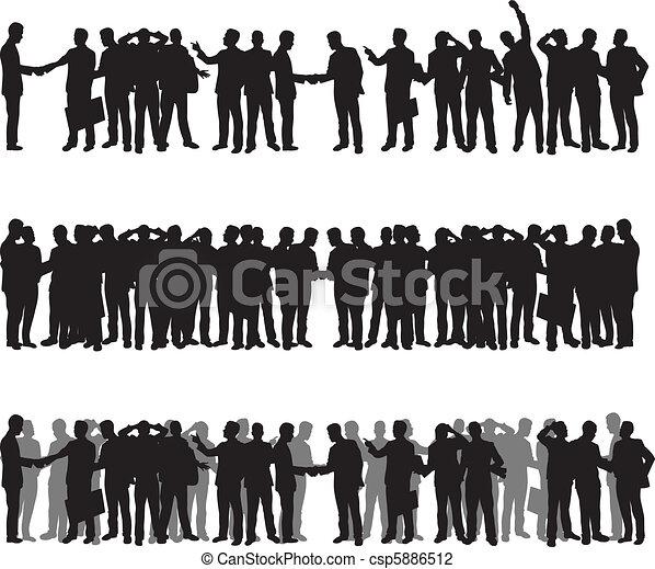 Gente de negocios - csp5886512