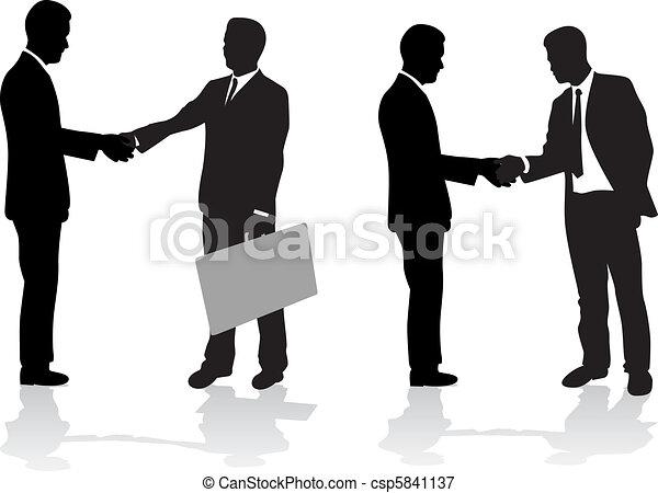 Gente de negocios - csp5841137