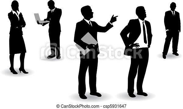 Gente de negocios - csp5931647