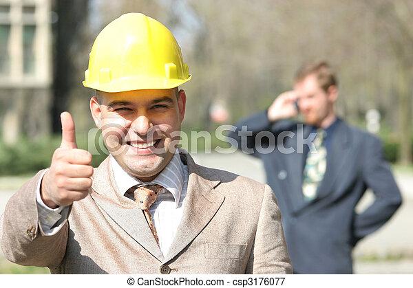 Gente de negocios - csp3176077