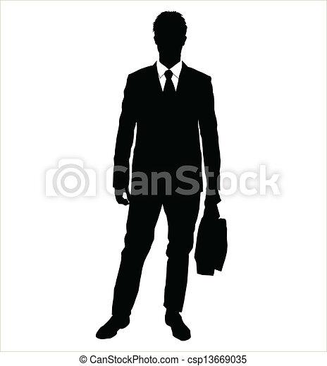 Gente de negocios - csp13669035