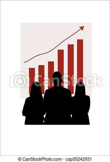 Gente de negocios - csp35242931