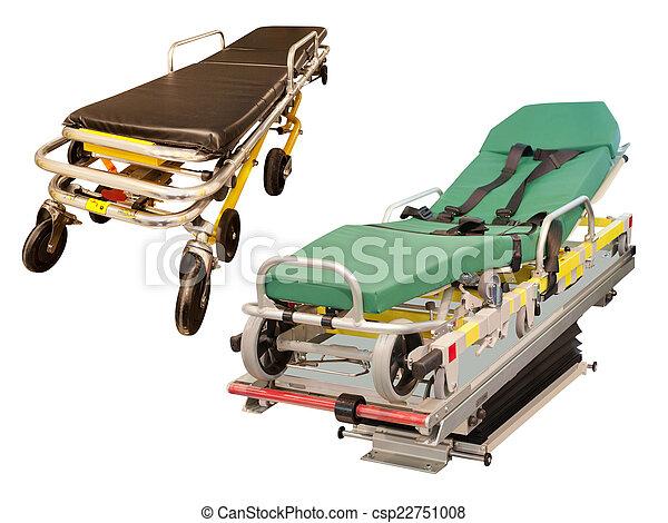 empty ambulance car - csp22751008
