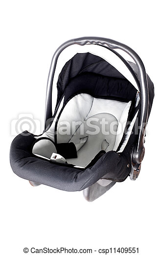 empty baby car seat - csp11409551