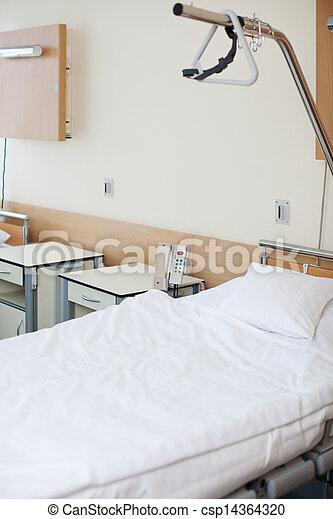 Empty Bed In Hospital - csp14364320