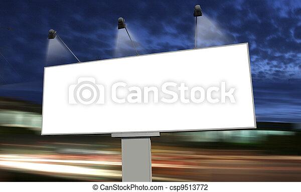 empty billboard - csp9513772