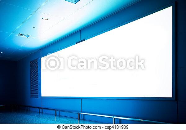 empty billboard - csp4131909
