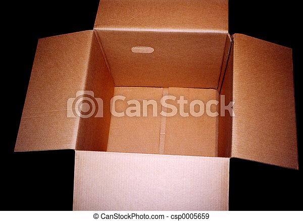 Empty Box - csp0005659
