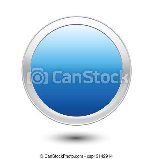 Empty Button - csp13142914