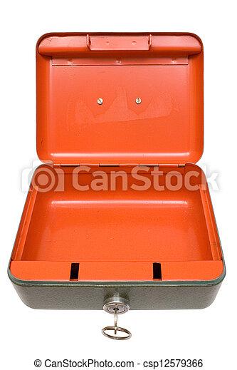 Empty Cash Box - csp12579366