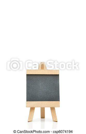 Empty chalkboard - csp6074194