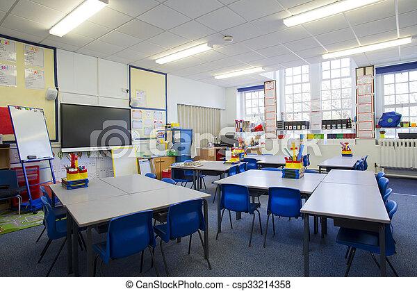 Empty Classroom - csp33214358