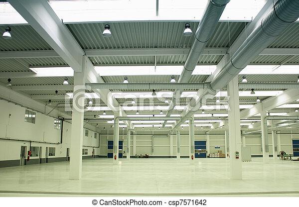 Empty factory - csp7571642