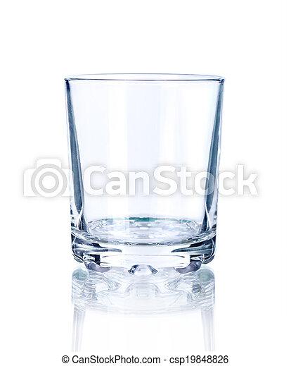 Empty glass - csp19848826