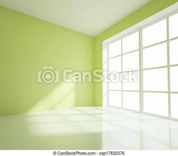empty green room - csp17632376