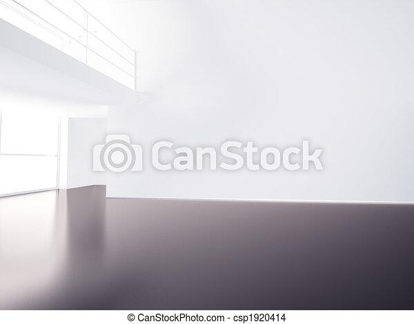 Empty hall - csp1920414