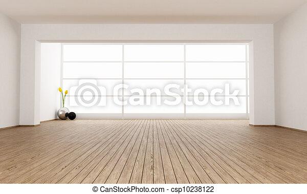 Empty minimalist room - csp10238122