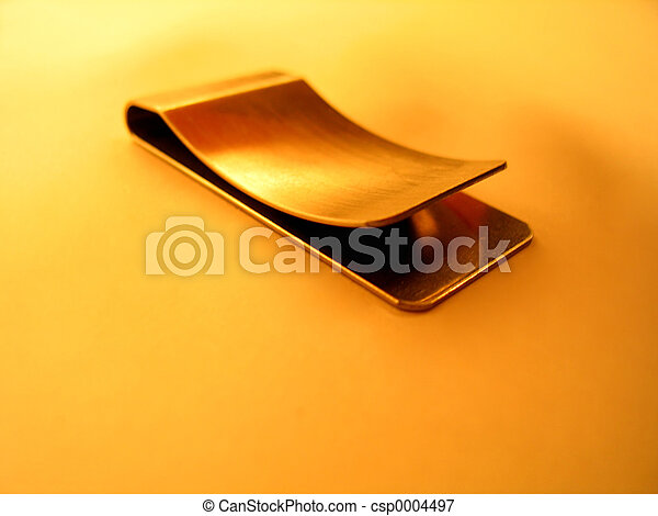 Empty Money Clip - csp0004497