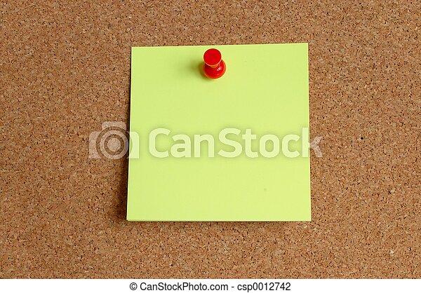 Empty Note - csp0012742