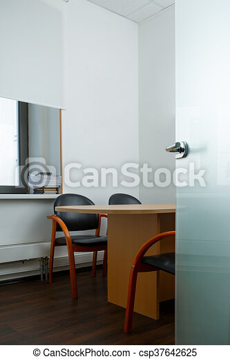 Empty office room concept clip art - Search Illustration, Drawings ...