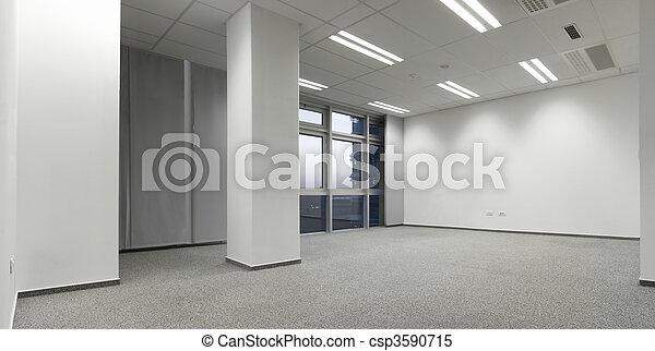 Empty office - csp3590715