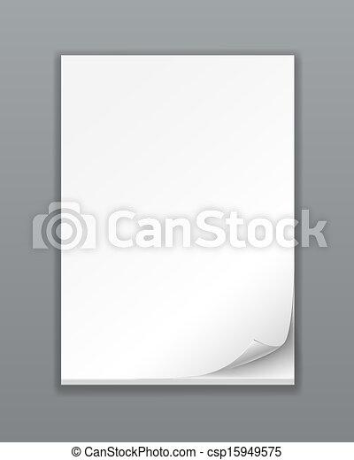 Empty Paper Stack - csp15949575