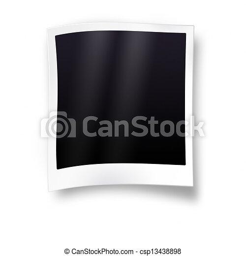 Empty photo frame - csp13438898