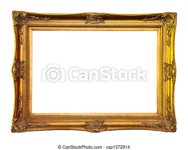 Empty picture frame - csp1372914